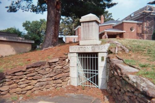 Stone Family Grave in Rock Creek Church Cemetery