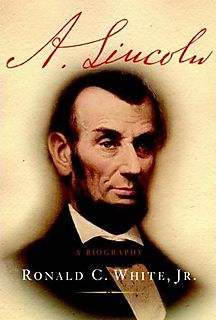 """A. Lincoln: A Biography"" will be sold at the event and author, Ron White, will be available to sign books after the event."