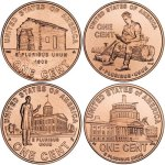 2009 Lincoln Bicentennial penny designs
