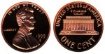 """Lincoln Memorial Penny"""