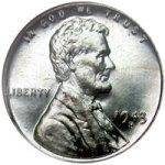"""1943 """"Steel Penny"""""""